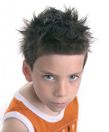 Short spiky haircuts for boys