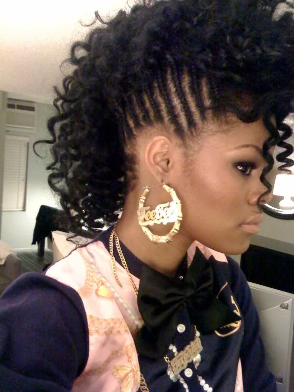Cute Hairstyles for Black Teenage Girls - Outfit Trends