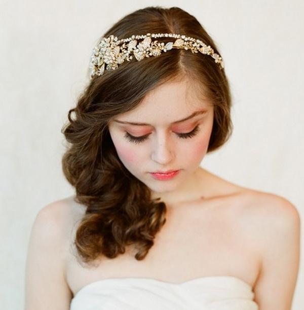 Medium wedding hairstyles 2013