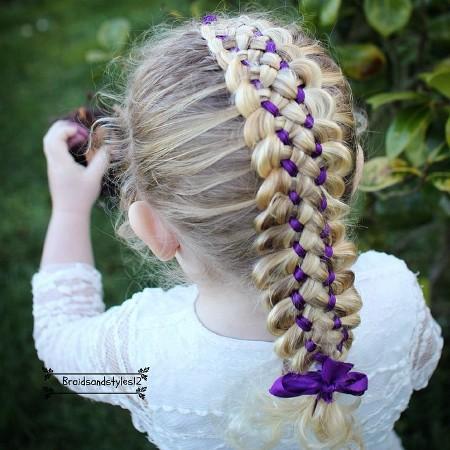 Коса Из 7 Прядей Фото и Видео Уроки Плетения Своими Руками