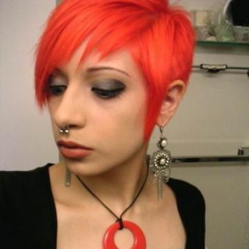 Девушки с Короткими рыжими волосами фото