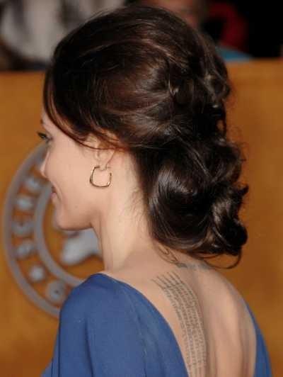 Прически Анджелины Джоли фото и видео инструкции