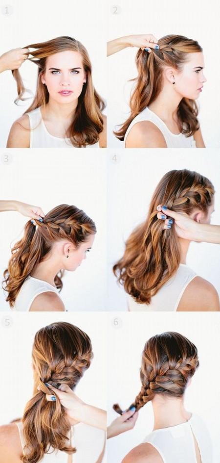Прически Для Длинных Волос - Косы на Омбре фото и видео уроки