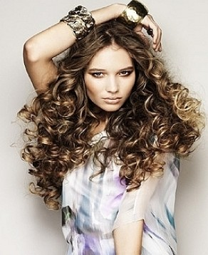 Очень Крупные Красивые Локоны на Длинных волосах фото и видео мастер-классы
