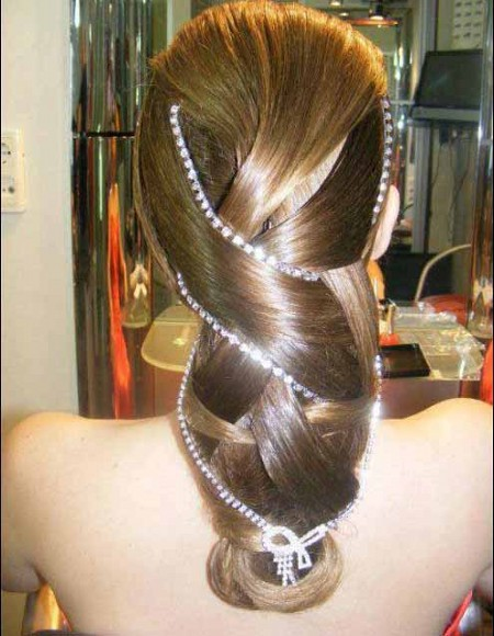 Прически На Длинные Волосы На Выпускной Вечер Фото и Видео Идеи