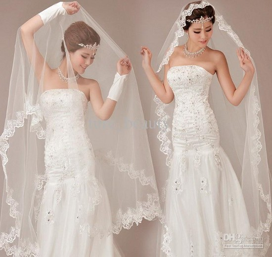 Длинные Свадебные Прически С Длинной Кружевной Фатой Фото Галерея Для Будущих Невест