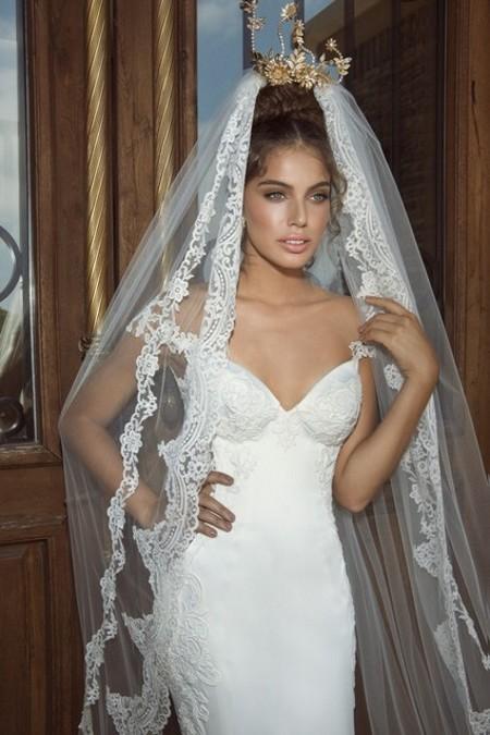Длинные Свадебные Прически Со Средней Фатой Фото Идеи Для Красавиц Невест