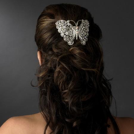 Прически Для Невесты С Использованием Заколок Бабочек Фото Материалы