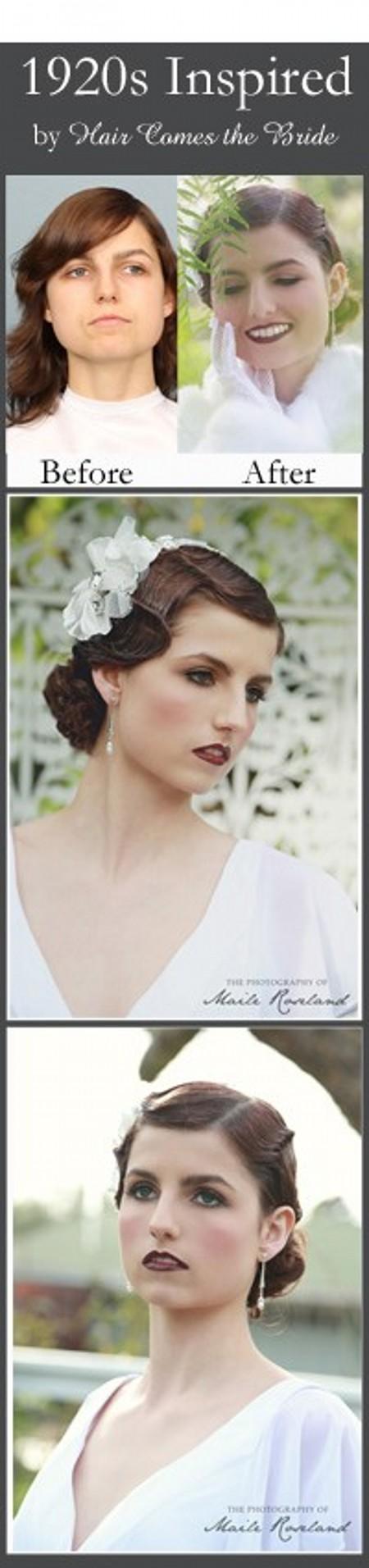 Короткие Прически Для Невест В Стиле 1920-х Годов Фотки