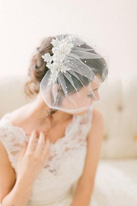 Короткие свадебные прически с короткой фатой более 140 фото образов невест