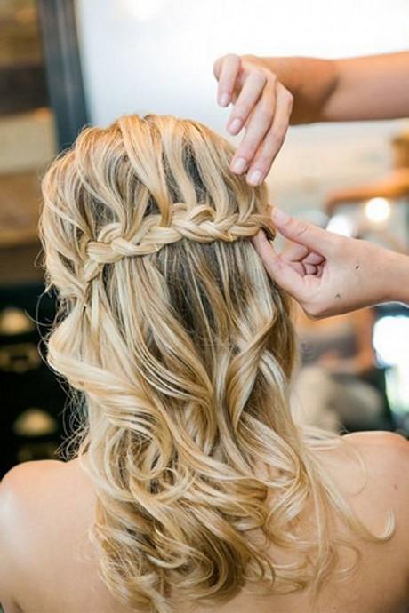 Свадебные прически в стиле «Водопад» фото идеи для невесты