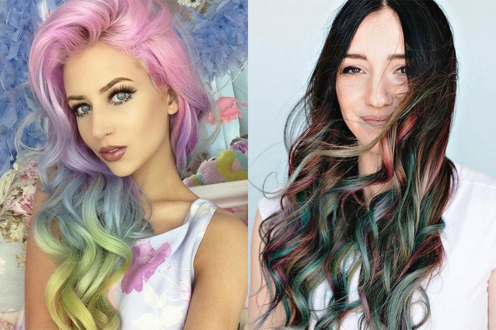 Цветные мелки для волос картинки