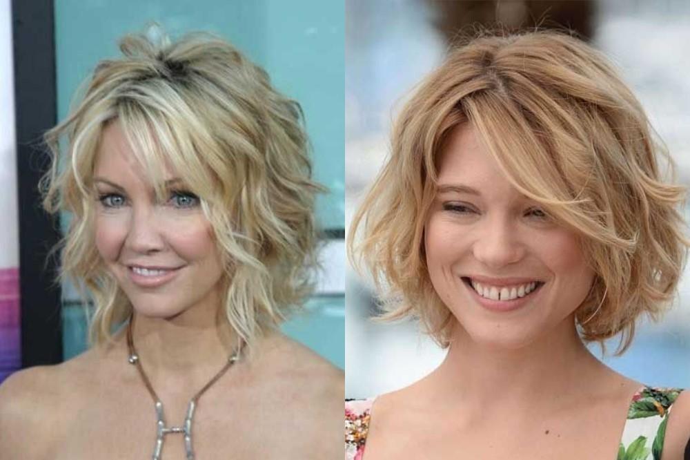 Укладка на жидкие волосы средней длины фото важно
