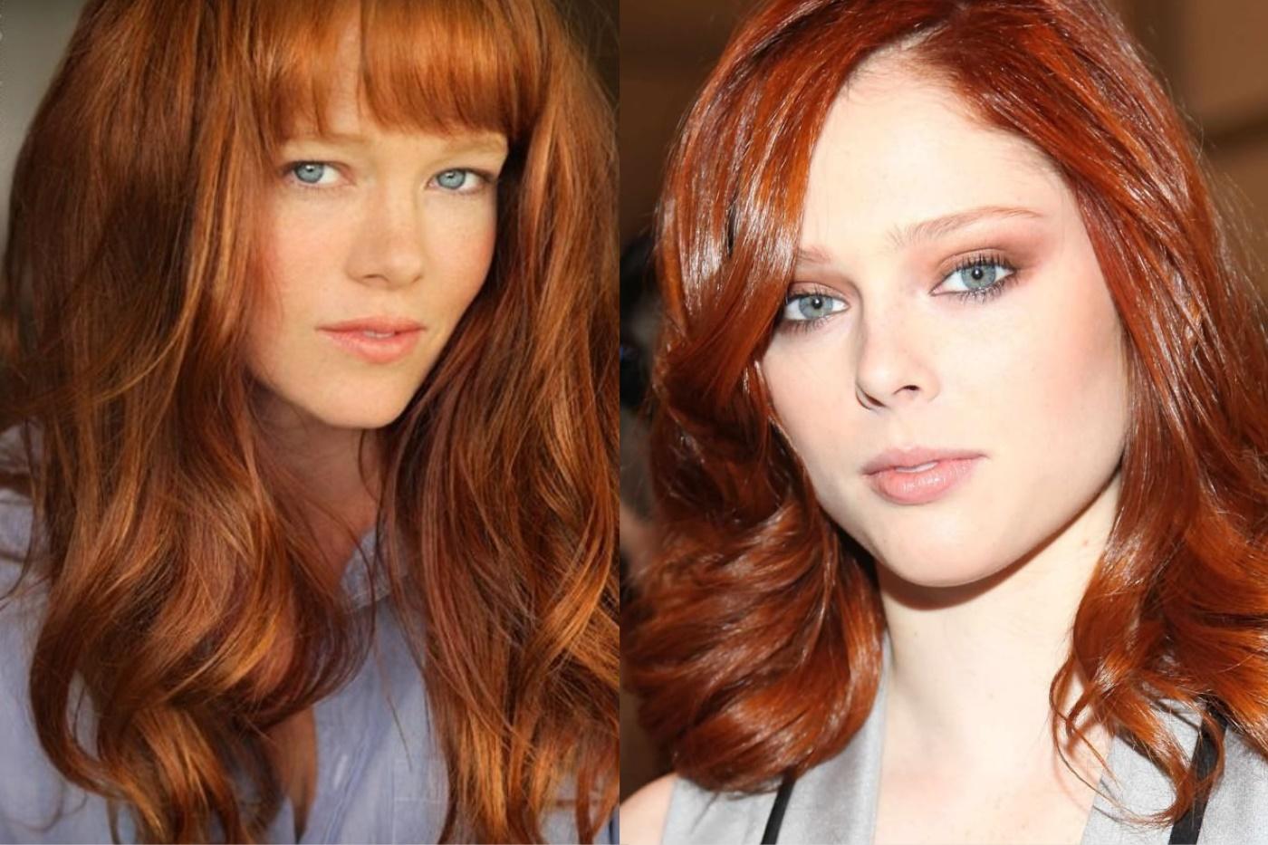 Картинки красок для волос рыжего цвета