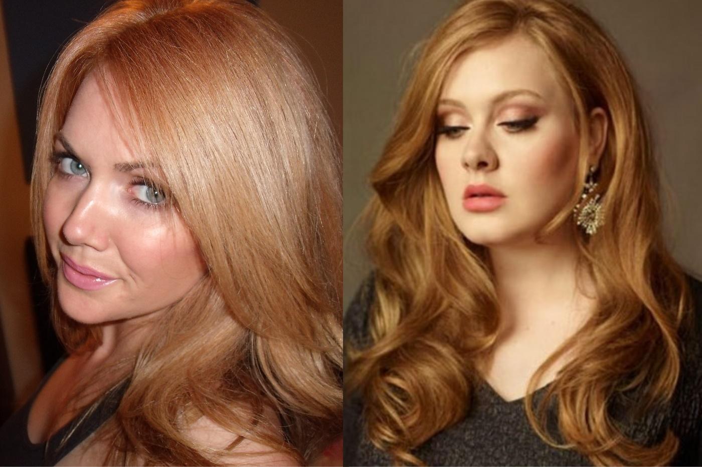 креветочный цвет волос фото методы визуализации