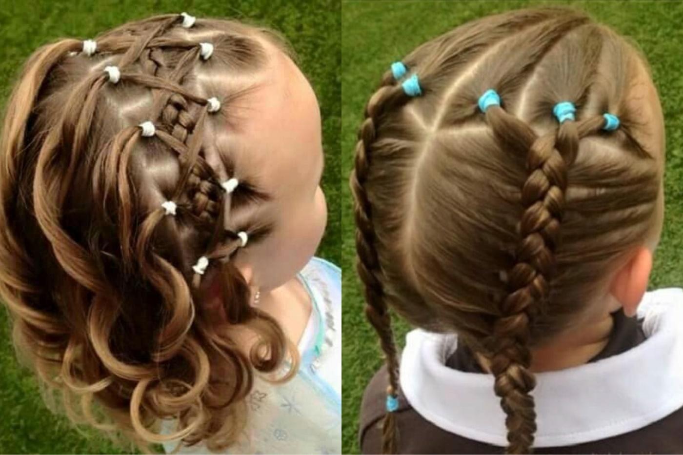 Красивые и нарядные прически с резинками на короткие и длинные волосы с фото