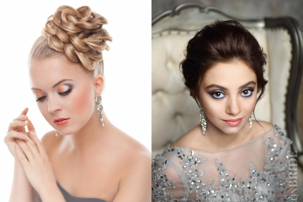 Руководство, как пошагово выполнить красивые вечерние прически на волосах разной длины