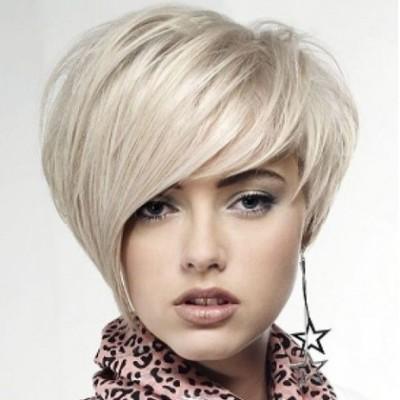 Прическа на короткие волосы в клуб фото варианты