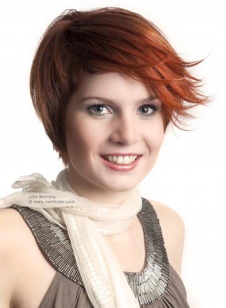 Прически на Короткие Волосы для Встречи Выпускников Фото