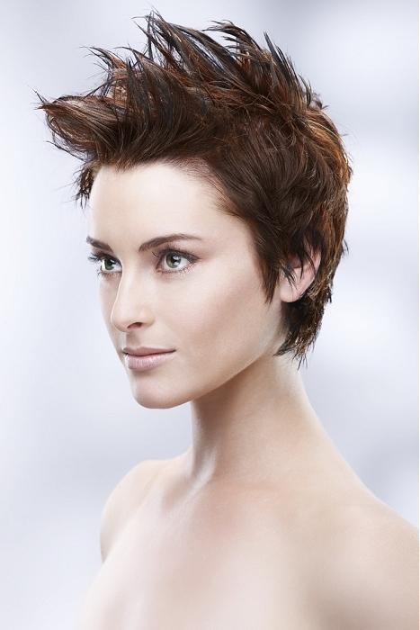 Причёска в стиле панк на коротких волосах фото и видео